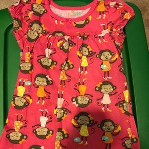 Other - 2 pajama dresses size 4